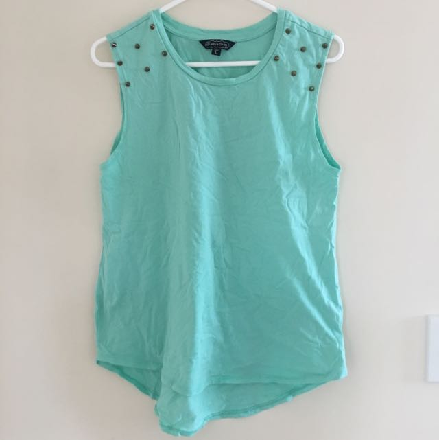 Glassons Mint Studded tee