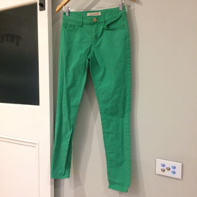 Green Country Road Pants - Size 4