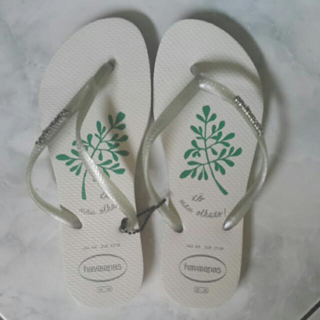 Havaianas Limited Edition Lucky Leaves