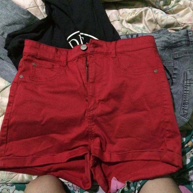 High Waist Shorts by Pull & Bear