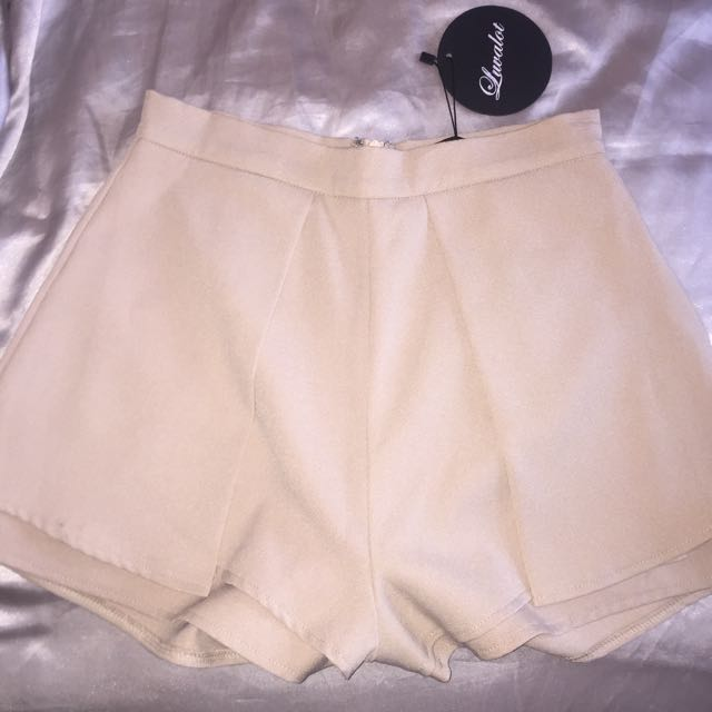 High Waisted Nude Colour Sorts