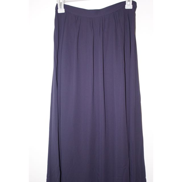 H&M Navy Gypsy Skirt