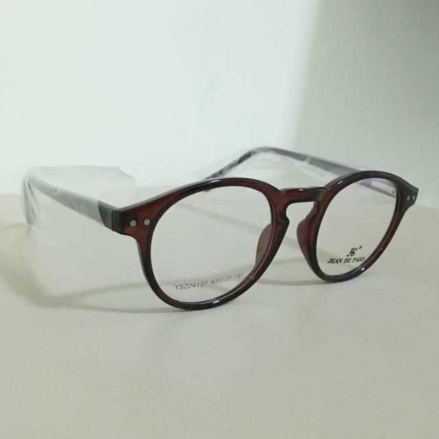 Kacamata Coklat Jean De Paris