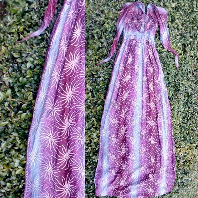 Longdress Batik Ikat Neck
