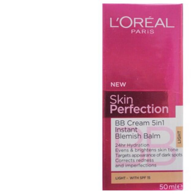 Loreal Bb Cream 5in1 Instant Perfecting Blemish Balm Health