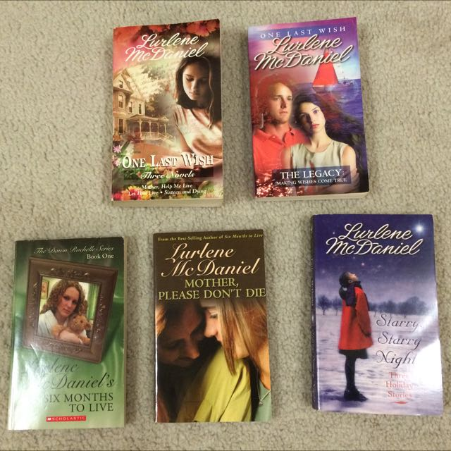 Lurlene McDaniel Book Collection (5 Books)