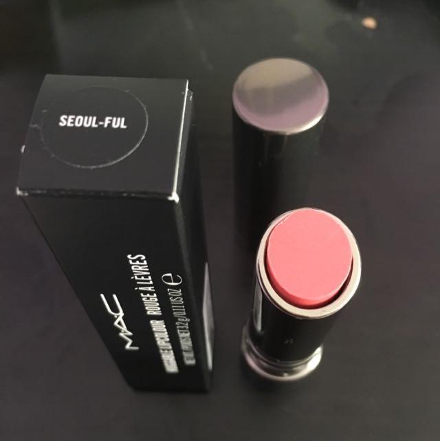 Mac Huggable Lipstick - Seoul Ful