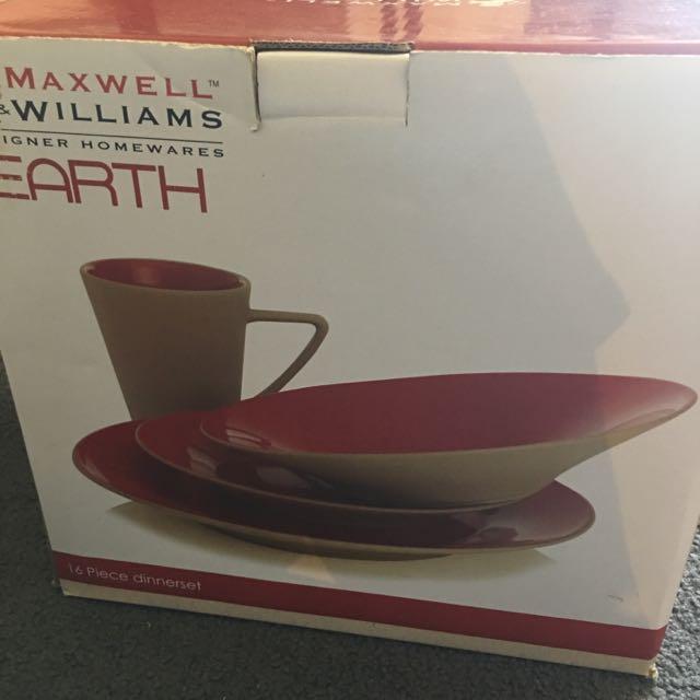 Maxwell & Williams Earth Dinnerset