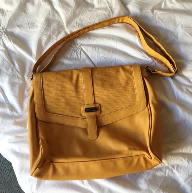Mustard Messenger Bag