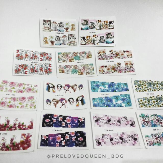 Nail Sticker / Stiker Kuku