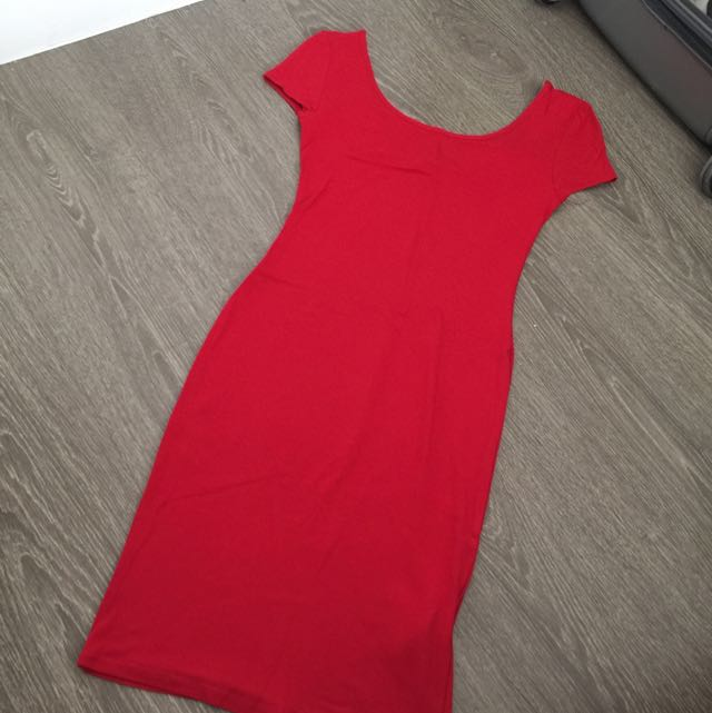 New Look Red Sexy Dress