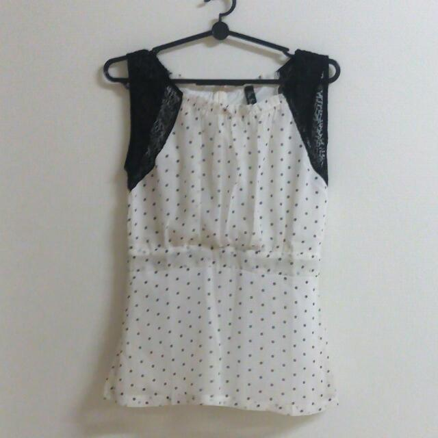 New Polkadot Top
