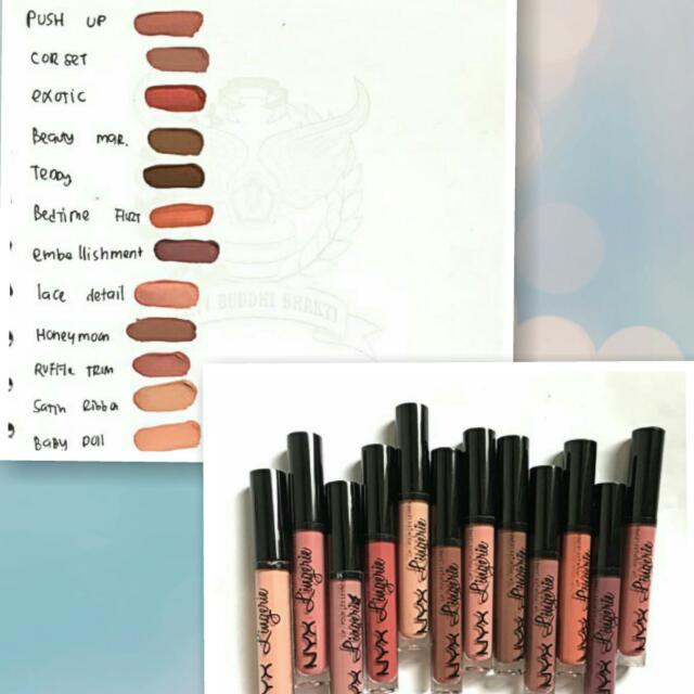NYX Lingerie Lip Cream