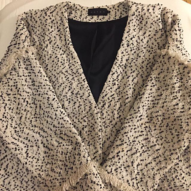 Oversized Tweed Blazer/Jacket