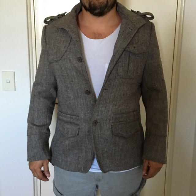 Paco Rabanne Coat/Jacket Large
