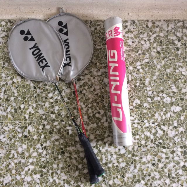 Pair If Yonex Badminton (never Used Bought 1.5 Yr Before)