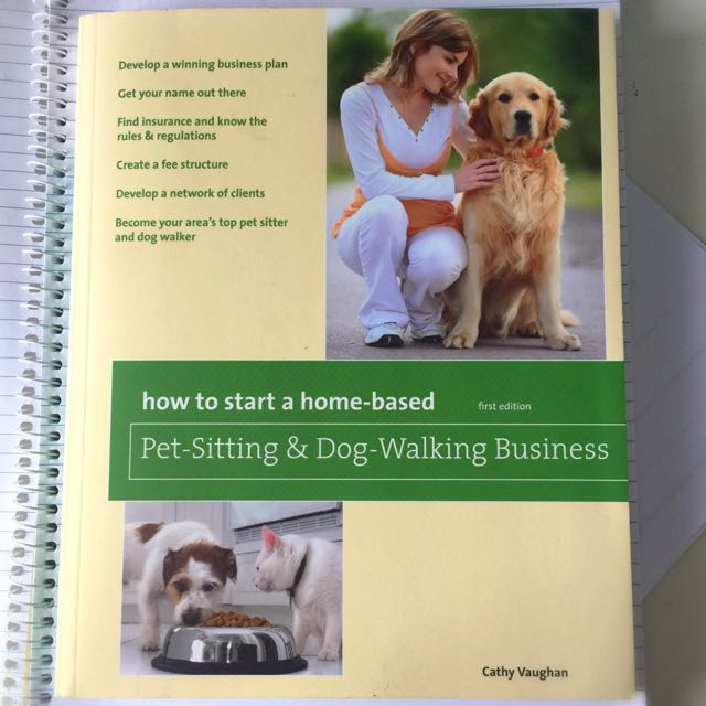 Pet Sitting Business Advice Help Book
