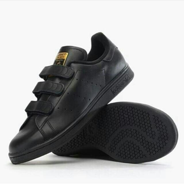 reputable site d2db4 22f14 (PO) Adidas Stan Smith CF Core Black S75189