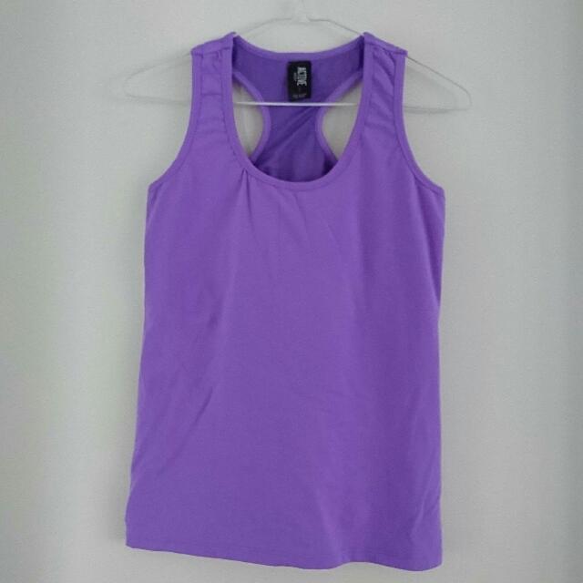 Purple Sports Singlet