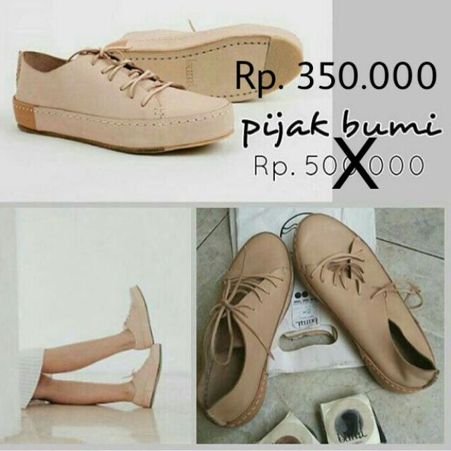 Shoes Pijak Bumi Womens Fashion Womens Shoes On Carousell