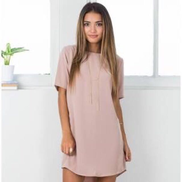 SHOWPO Way It Is Dress (MOCHA)