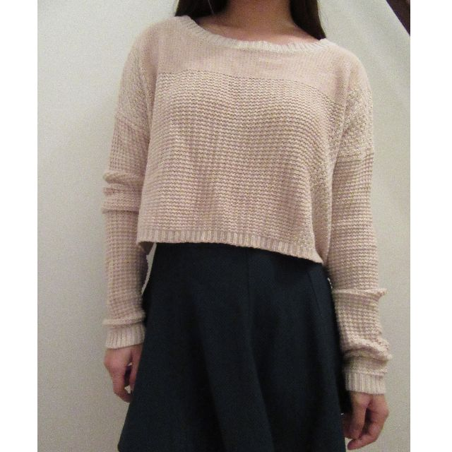 *REDUCED* Silence + Noise Cropped Sweater
