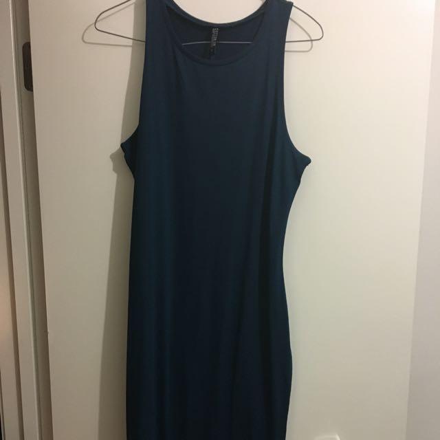 Size 12 Women's Maxi - Dark Teal