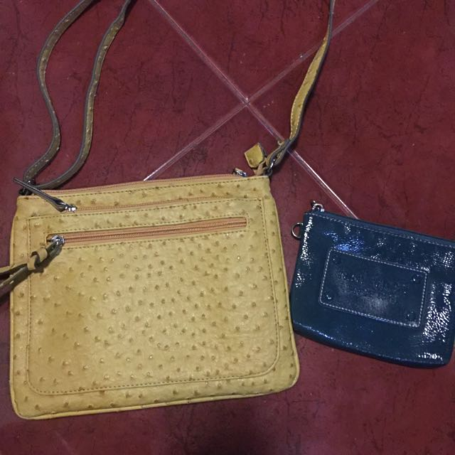 Take All ❗️❗️Merona bag with Nine West Pouch