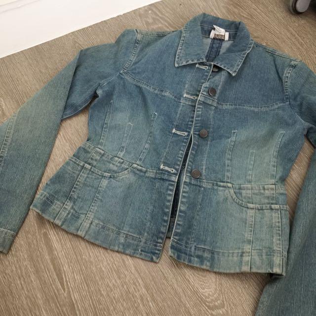 The loft denim jacket