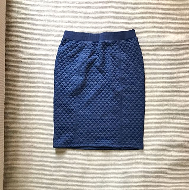 Rok Quilted Skirt Uniqlo