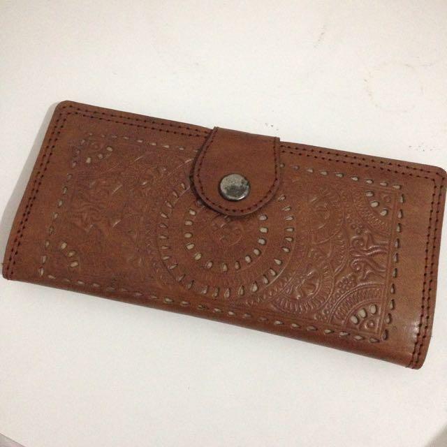 Vintage Brown Wallet