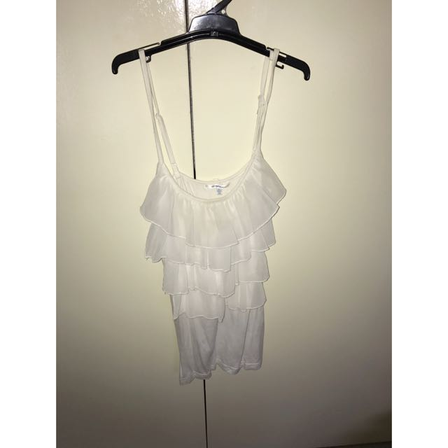 White Valleygirl Top