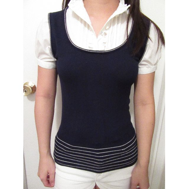 XXI Preppy Blouse