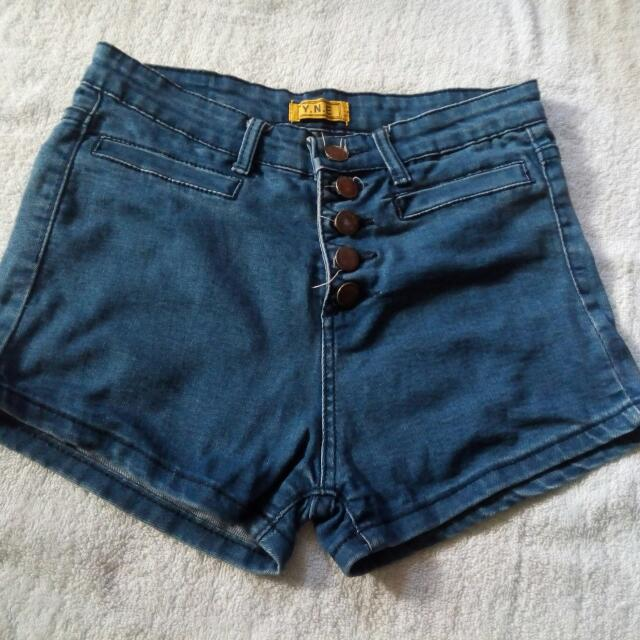 Y. N. E Highwaist Short