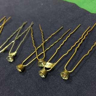 BN Bridal Faux Diamond Hair Pins
