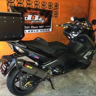 yamaha tmax 2016 limited edition (ironmax)