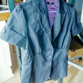 Short Sleeve Lined Jacket