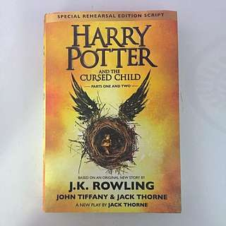 Harry Potter and the Cursed Child - JK Rowling - Special Rehearsal Edition Script