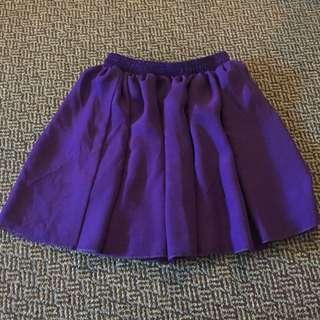 Flowy Purple American Apparel Skirt