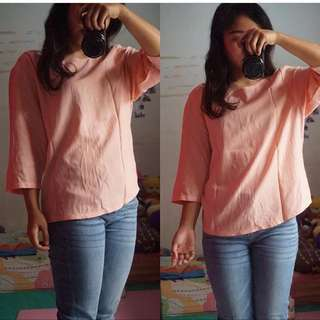 CLOTH INC PEACH TOP