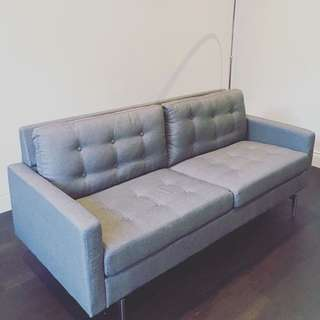 🚫reserved🚫Grey Sofa