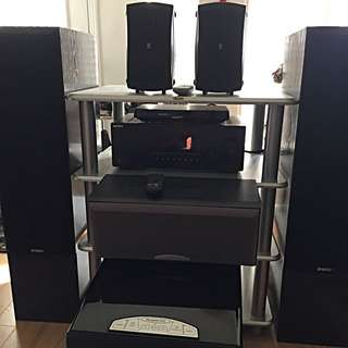AMAZING COMPLETE HOME THEATRE SYSTEM FOR SALE! GREAT PRICE