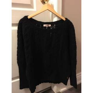 Black Juicy Couture Wool/knit Sweater