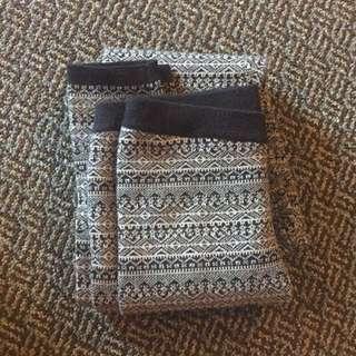 Knit Patterned Leggings