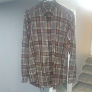 Bobby Jones Collection Plaid Button Up