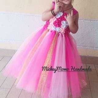 Handmade tutu dress for girl