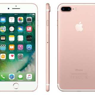 Sealed Brand New IPHONE 7 PLUS 32GB ROSE GOLD