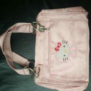 Hellow Kitty Pink Bag