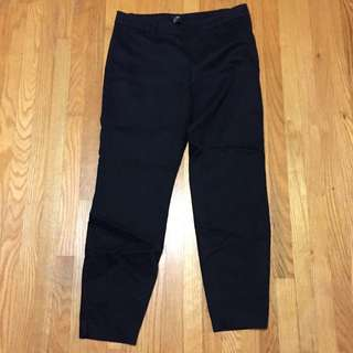 Black H&M Ankle Trousers