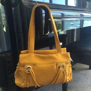 Yellow Handbag By Ciao Bella